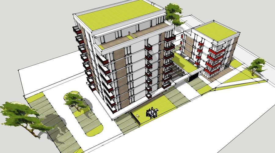 Bytový dom - 46 bytov