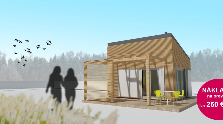 mini chata alebo záhradný domček