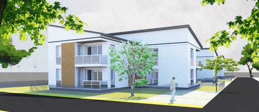 Nájomný bytový dom - 24 bytov
