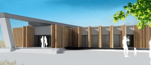 architektonická štúdia pastoračné centrum