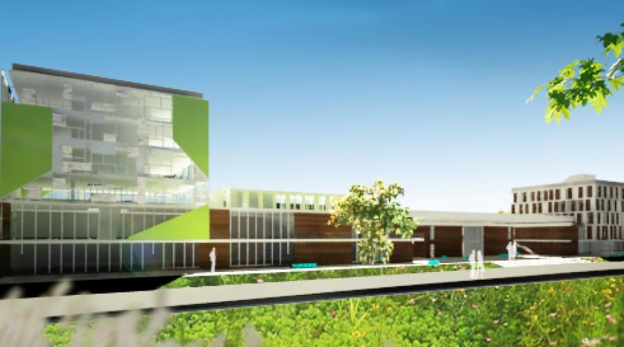 architektonický návrh kasárni vBardejove