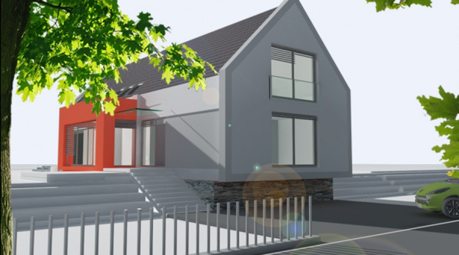 moderný rodinný dom